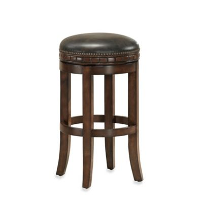 American Heritage Sonoma Counter Stool in Suede