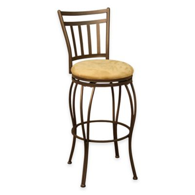 American Heritage Folio Counter Stool in Topaz