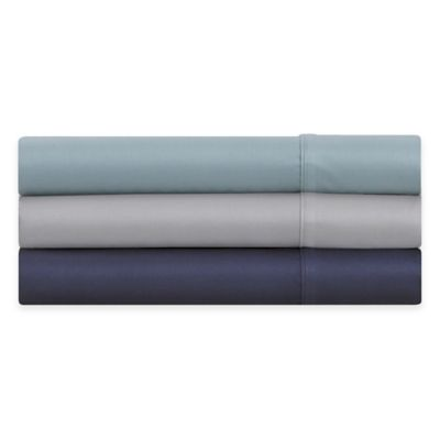 Modern Living 300-Thread-Count Twin Sheet Set in Blue Mist