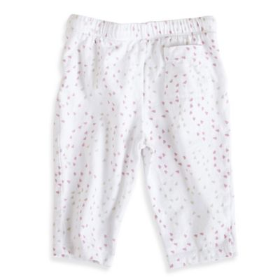 aden + anais® Size 0-3M Lovely Mini-Hearts Jersey Pant in Pink/Grey