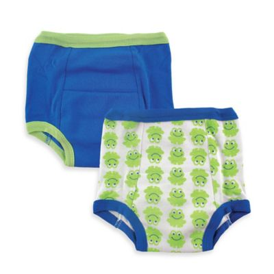 BabyVision® Luvable Friends® 2-Pack Size 4T Water-Resistant Training Pants in Frog Print
