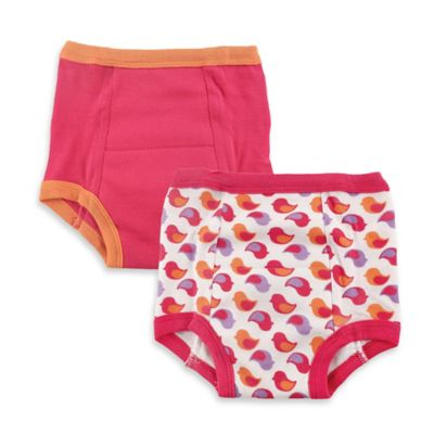 BabyVision® Luvable Friends™ 2-Pack Size 2T Water Resistant Training Pant in Pink Birds