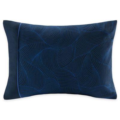 Natori Origami Mum King Pillow Sham in Indigo