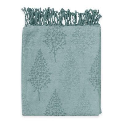 Forest Cotton Throw