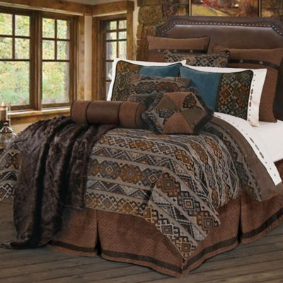 HiEnd Accents Rio Grande Queen Duvet Cover Set
