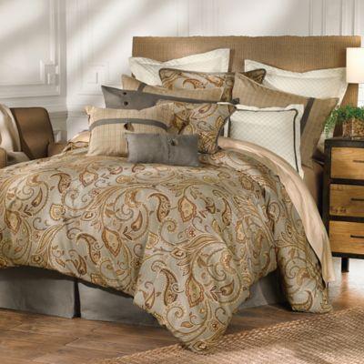 HiEnd Accents 4-Piece Queen Piedmont Comforter Set