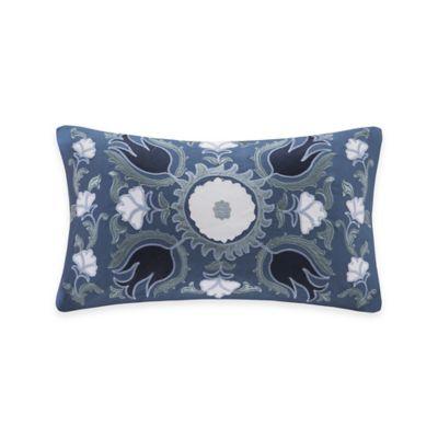 Harbor House™ Freya Oblong Throw Pillow in Blue