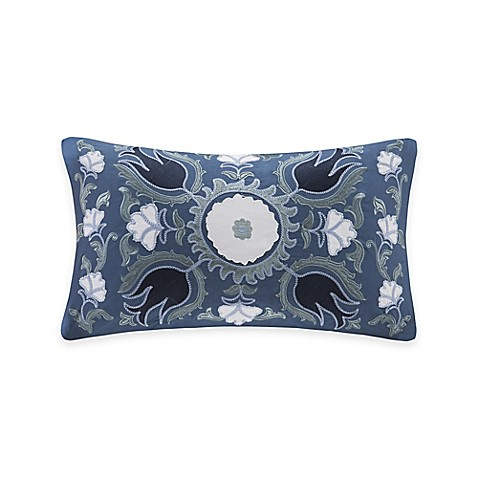 Harbor House Freya Oblong Throw Pillow in Blue - Bed Bath & Beyond