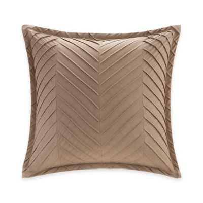 Metropolitan Home Kenmare European Pillow Sham in Taupe