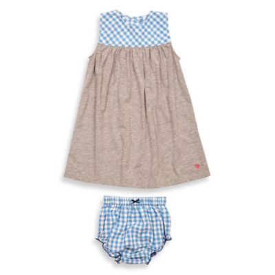 Dress and Diaper Cover Set