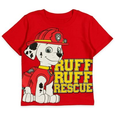 """Nickelodeon™ Size 4T PAW Patrol """"Ruff Ruff Rescue"""" Shirt in Red"""