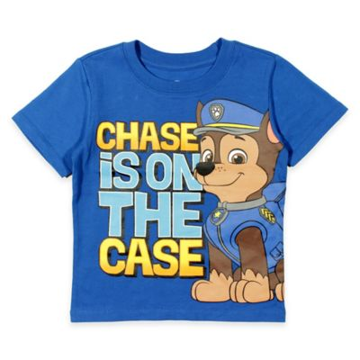 """Nickelodeon™ Size 2T PAW Patrol """"Chase is on The Case"""" Shirt in Blue"""