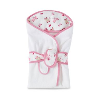aden + anais® Hooded Bath Wrap in Princess Posie