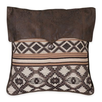 HiEnd Accents Tucson Envelope Square Throw Pillow