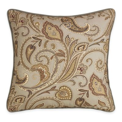 HiEnd Accents Paisley European Pillow Sham