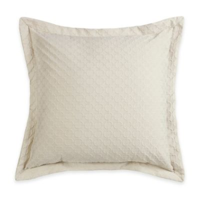 HiEnd Accents Chain Link European Pillow Sham