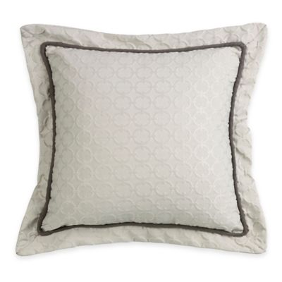 HiEnd Accents Chain Link Square Throw Pillow