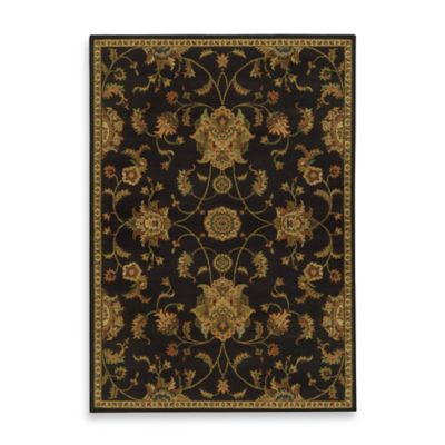 Oriental Weavers Parker Traditional 1-Foot 10-Inch x 7-Foot 6-Inch Runner in Black