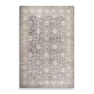 Safavieh Sofia Collection Traditional 4-Foot x 5-Foot 7-Inch Area Rug in Grey