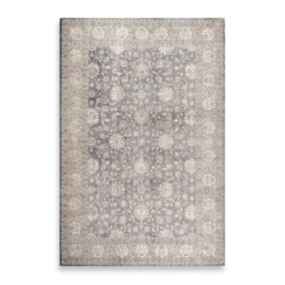 Safavieh Sofia Collection Traditional 6-Foot 7-Inch x 9-Foot 2-Inch Area Rug in Grey