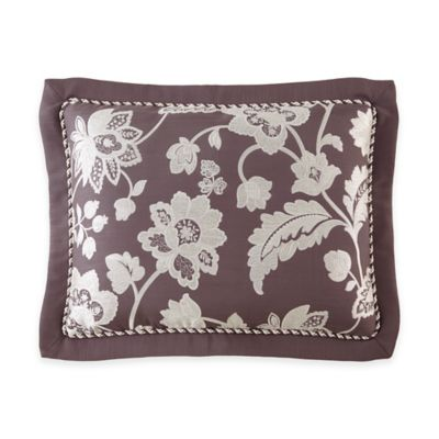 Waterford® Linens Adelisa Standard Pillow Sham in Plum
