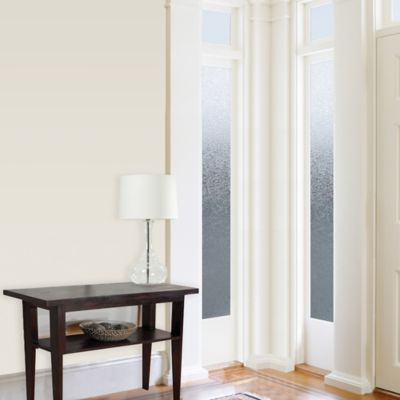 Glacier Premium Static Cling Sidelight Window Film in Clear