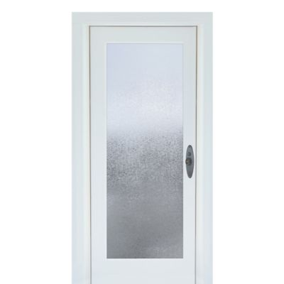 Glacier Premium Static Cling Glass Door Film in Clear