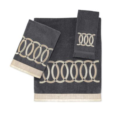 Avanti Alexa Bath Towel in Granite