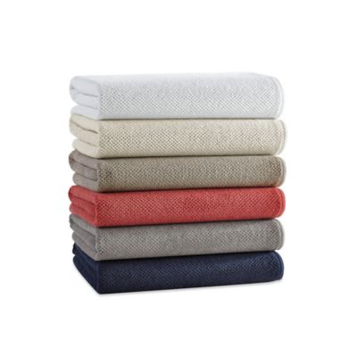 Kassatex Abeille Collection Etoile Wash Cloth in Indigo
