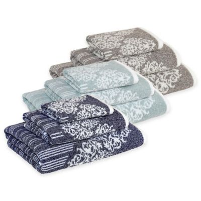 Soft Aqua Towel Set