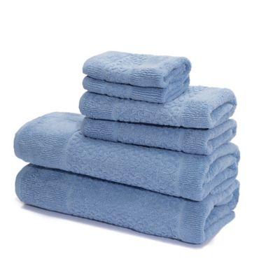 Blue Designer Towels