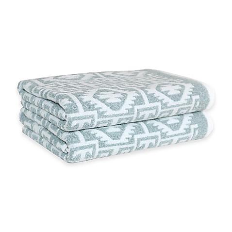 linum home textiles kula bath towels set of 2 bed bath. Black Bedroom Furniture Sets. Home Design Ideas