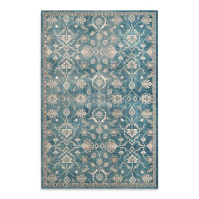 Safavieh Sofia Collection Floral 8-Foot x 11-Foot Area Rug in Blue