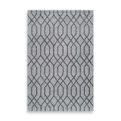 Rugs America Madison 8-Foot x 10-Foot Area Rug in Pewter Grey