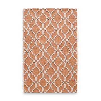 Rugs America Soho 8-Foot x 10-Foot Area Rug in Copper Tones