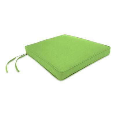 17-Inch x 18.5-Inch Trapezoid Chair Cushion in Sunbrella® Ginkgo
