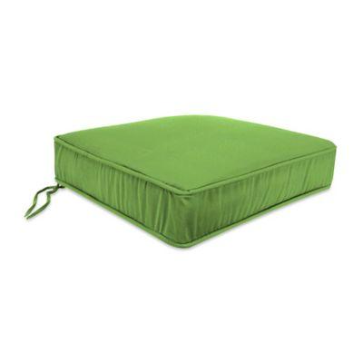 18-Inch x 20.5-Inch Trapezoid Chair Cushion in Sunbrella® Ginkgo