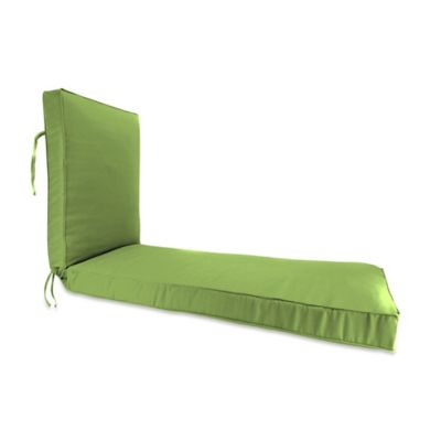 68-Inch x 24-Inch Chaise Lounge Cushion in Sunbrella® Ginkgo
