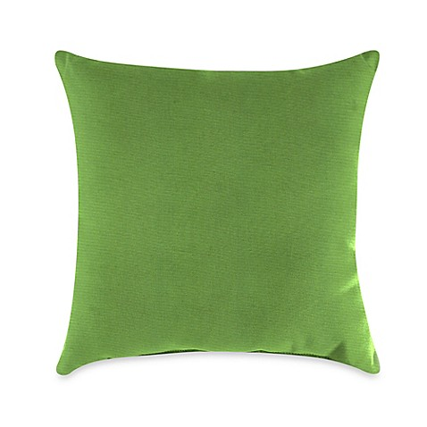 Buy Gingko Outdoor Throw Pillow In Sunbrella 174 Ginkgo From