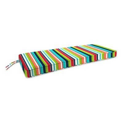 18-Inch x 48-Inch 2-Person Bench Cushion in Sunbrella® Carousel Confetti