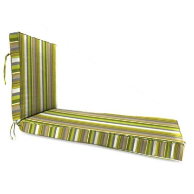 80-Inch x 23-Inch Chaise Lounge Cushion in Sunbrella® Carousel Limelight