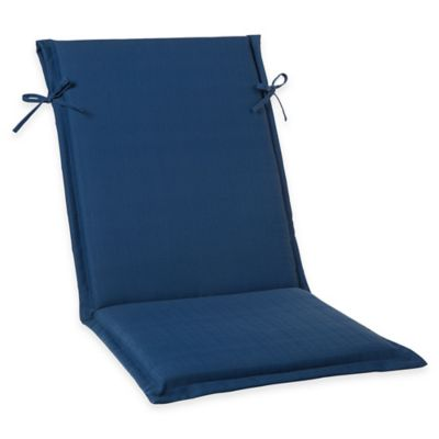 Indigo Sling-Back Cushion