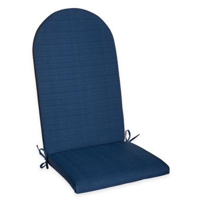Forsyth Adirondack Chair Cushion in Indigo
