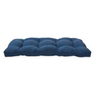 Forsyth Settee Cushion in Indigo