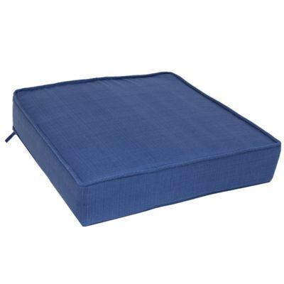 Forsyth Deep Seat Cushion in Indigo
