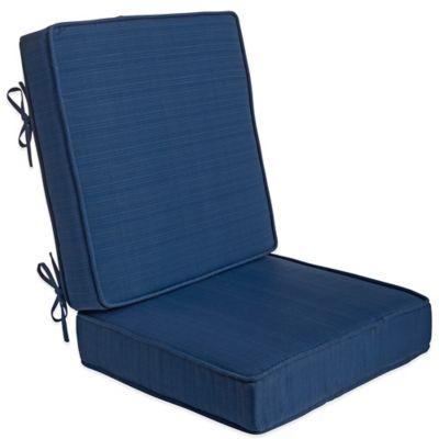 Forsyth 2-Piece Deep Seat Cushion in Indigo