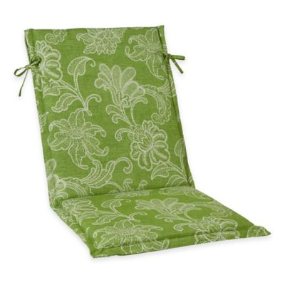 Ellie Outdoor Sling Back Chair Cushion in Kiwi