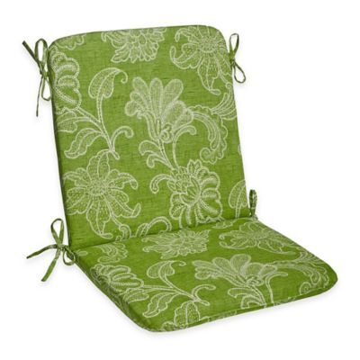 Ellie Outdoor Mid-Back Cushion in Kiwi