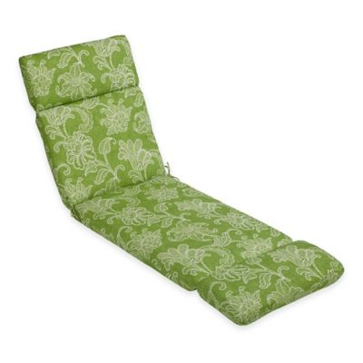 Ellie Outdoor Chaise Cushion in Kiwi