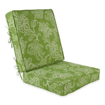 Ellie Outdoor 2-Piece Deep Seat Cushion in Kiwi